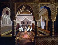 アラブ建築内部