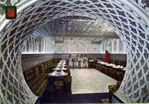アラブ建築内壁