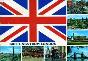 ロンドン絵葉書弟宛web