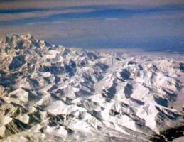 アラスカ上空2