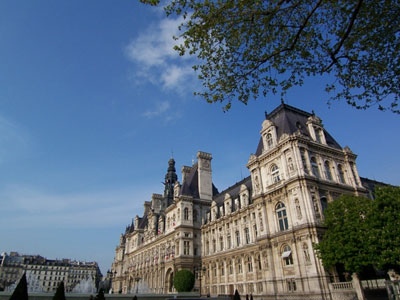 パリ市庁舎400