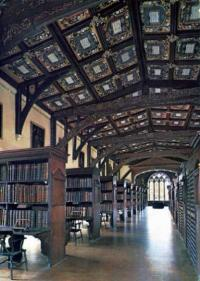 ボドレアン図書館内部