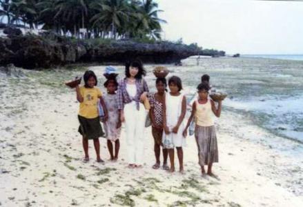 セブ島の子どもたちと