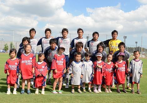 20110918 流経大FC集合