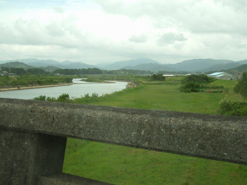 串間の福島川