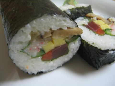 恵方巻き 丸かぶり寿司