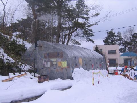 函館大沼 太公園 管理棟ハウス