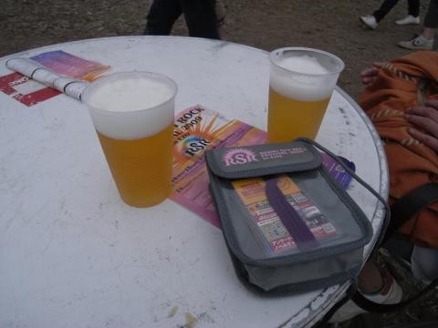 RSR・ライジングサンロックフェスティバル・生ビール