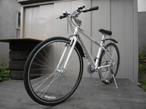 自転車通勤 クロスバイク