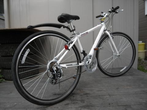 自転車通勤 クロスバイク2