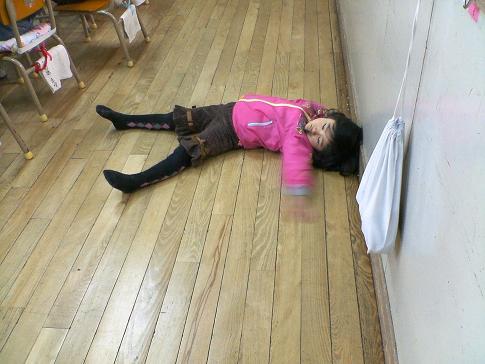 2010.2.11 あらしの参観日に