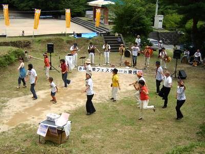 赤崎神社音楽フェスタ2008in樂桟敷 ©nobuさん