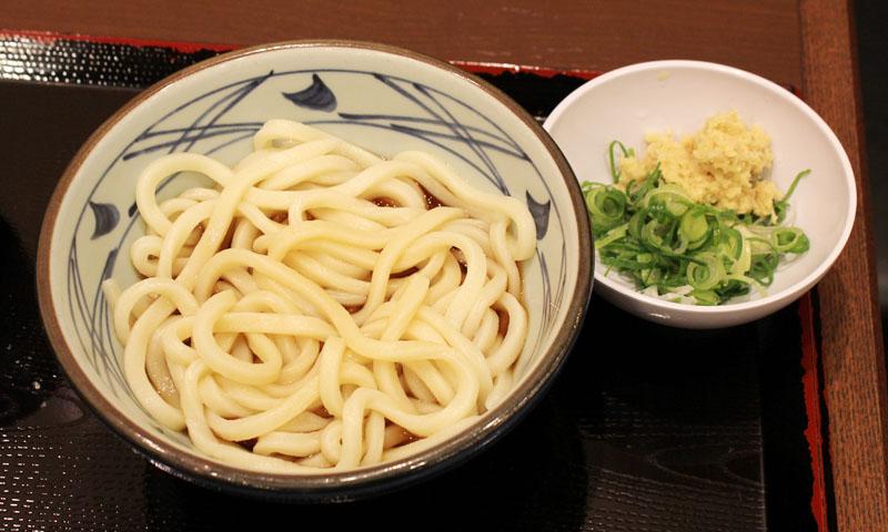 ぶっかけ(温)並 丸亀製麺