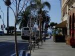 サンタモニカビーチ前