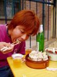 北京の小吃屋の焼麦