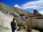セラ寺の裏門探索