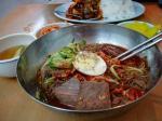近所の韓国料理屋で
