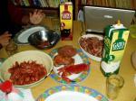 海の幸の食卓