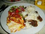 宿の夕食3