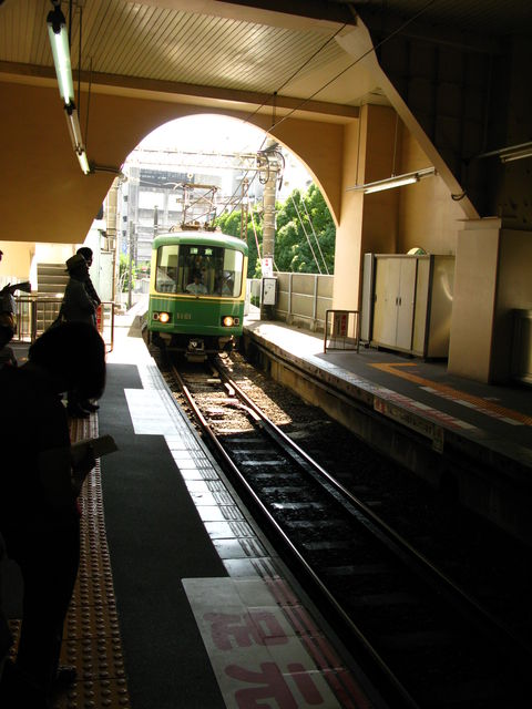 江ノ電(藤沢駅)