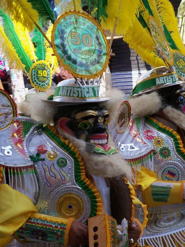 ラ・パスのお祭り