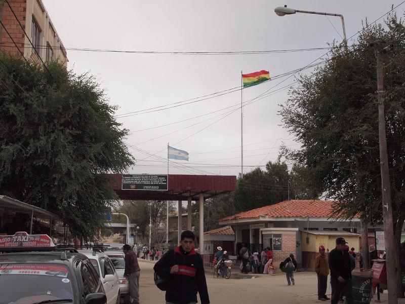 ボリビア⇔アルゼンチン間国境