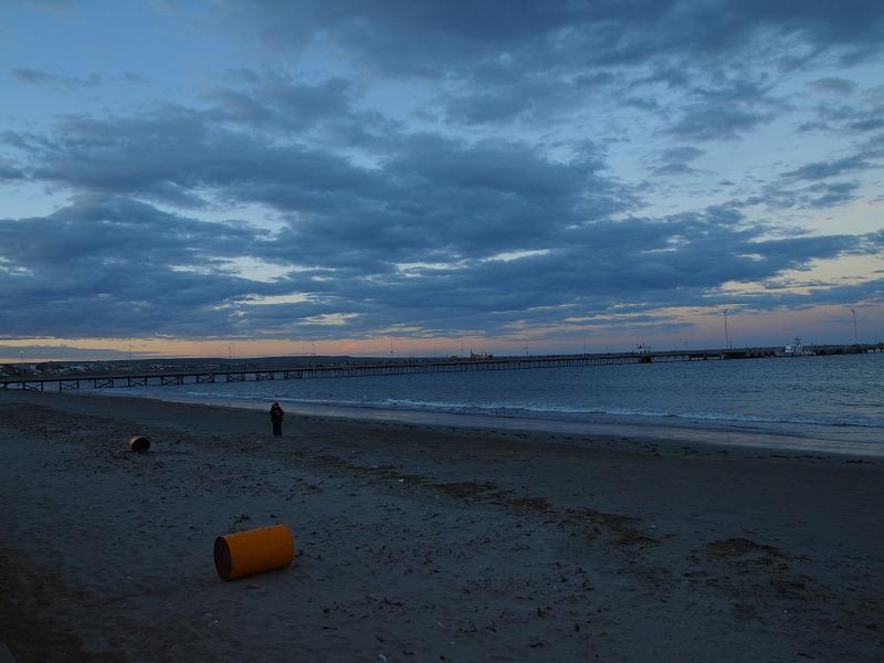 プエルトマドリンの夕日