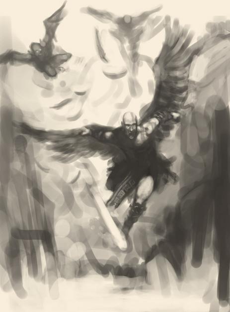 クレイトスとイカロスの翼