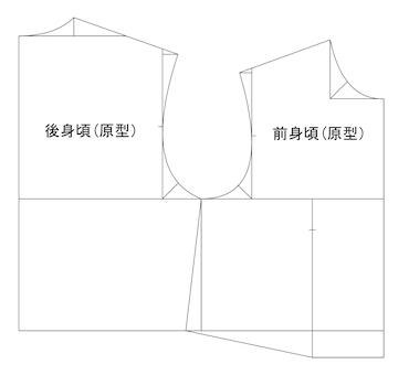 文化式婦人原型(CAD)[1]