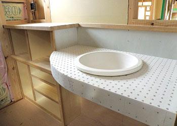 パウダールーム洗面器1