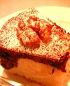 クルミのケーキ