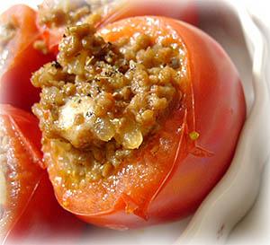 090723トマトの肉詰め焼き2