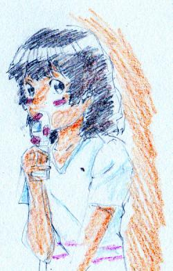 倫子ちゃん髪を下ろす