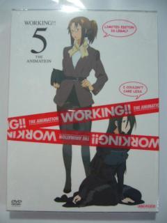「WORKING!!」DVD第5巻!