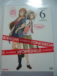 「WORKING!!」DVD第6巻