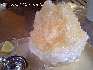 黒糖梅&檸檬氷