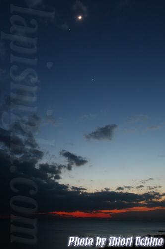 月と金木星