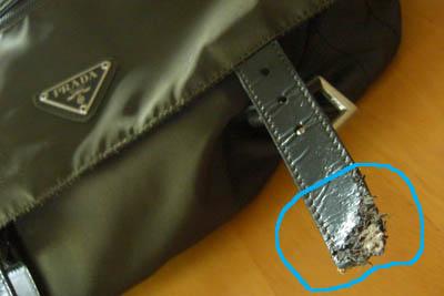 お気に入りのバッグが^^;