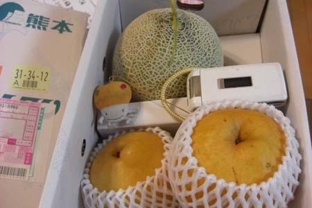 梨とメロン