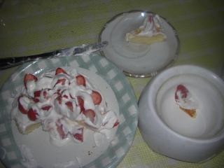 ケーキの現実。