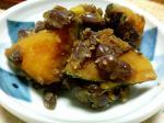 かぼちゃと小豆の煮物