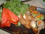 豚肉の野菜&しそチーズ巻き