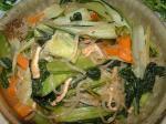 山東菜の煮びたし