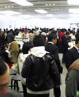 AppleStore福岡天神店内