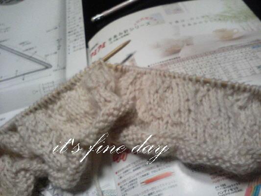 編み物ストール