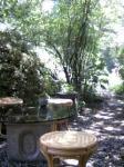 お庭~な雰囲気。