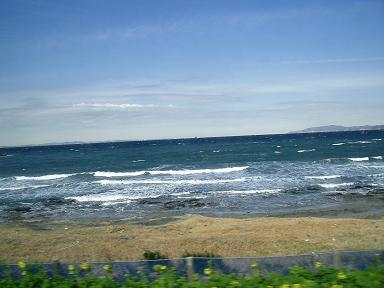 安房白浜の海