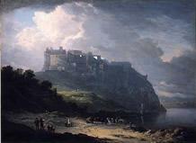 「エディンバラ城とノール湖」