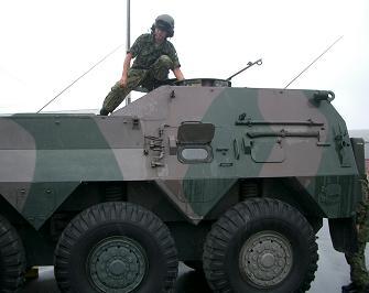 和歌山・戦車