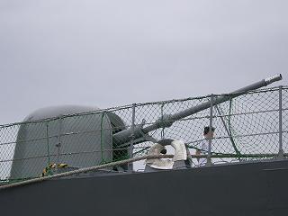 和歌山・76mm砲